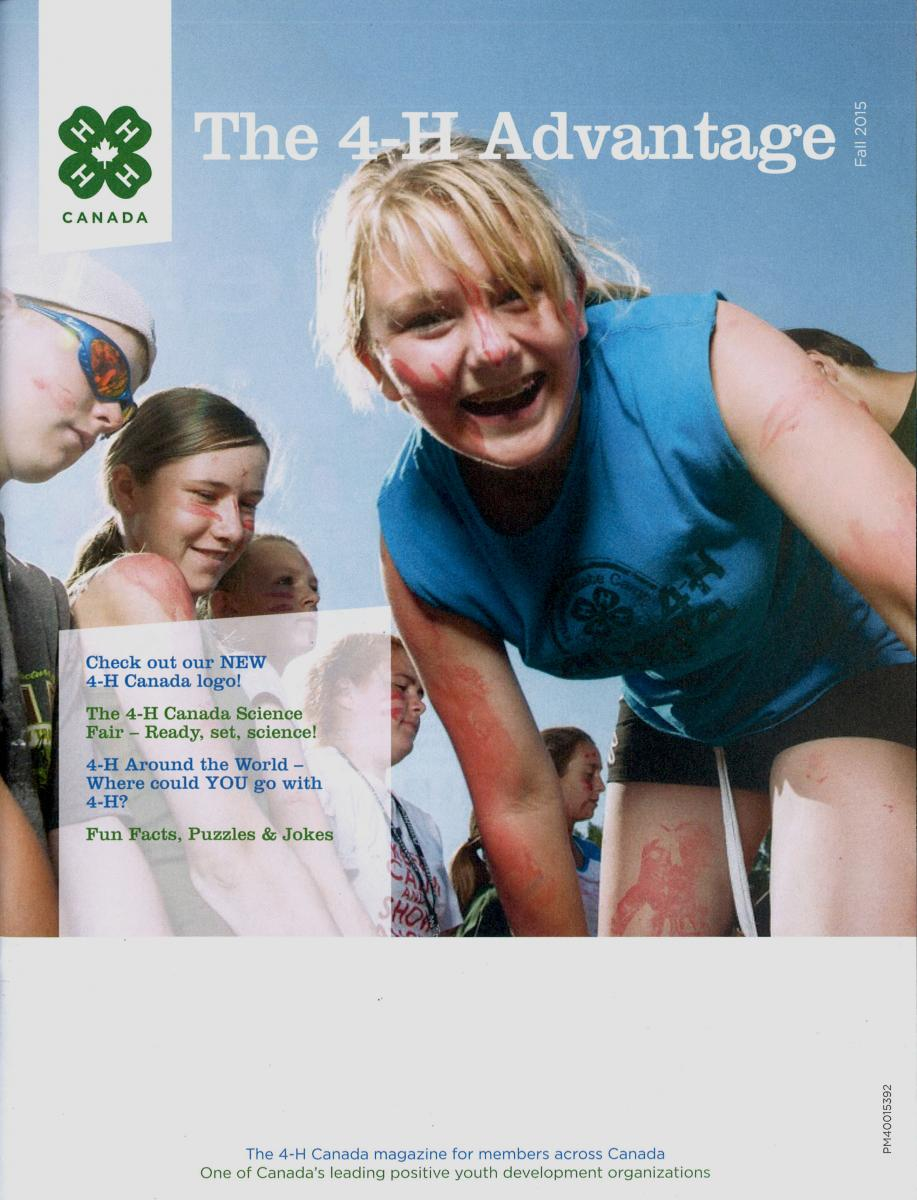 Cover of 4-H Advantage Fall 2015