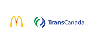 McDonald's Canada and TransCanada Logos