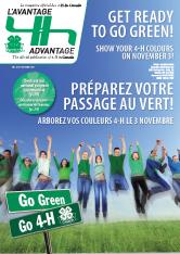 Couvert pour l'avantage 4-H automne 2010