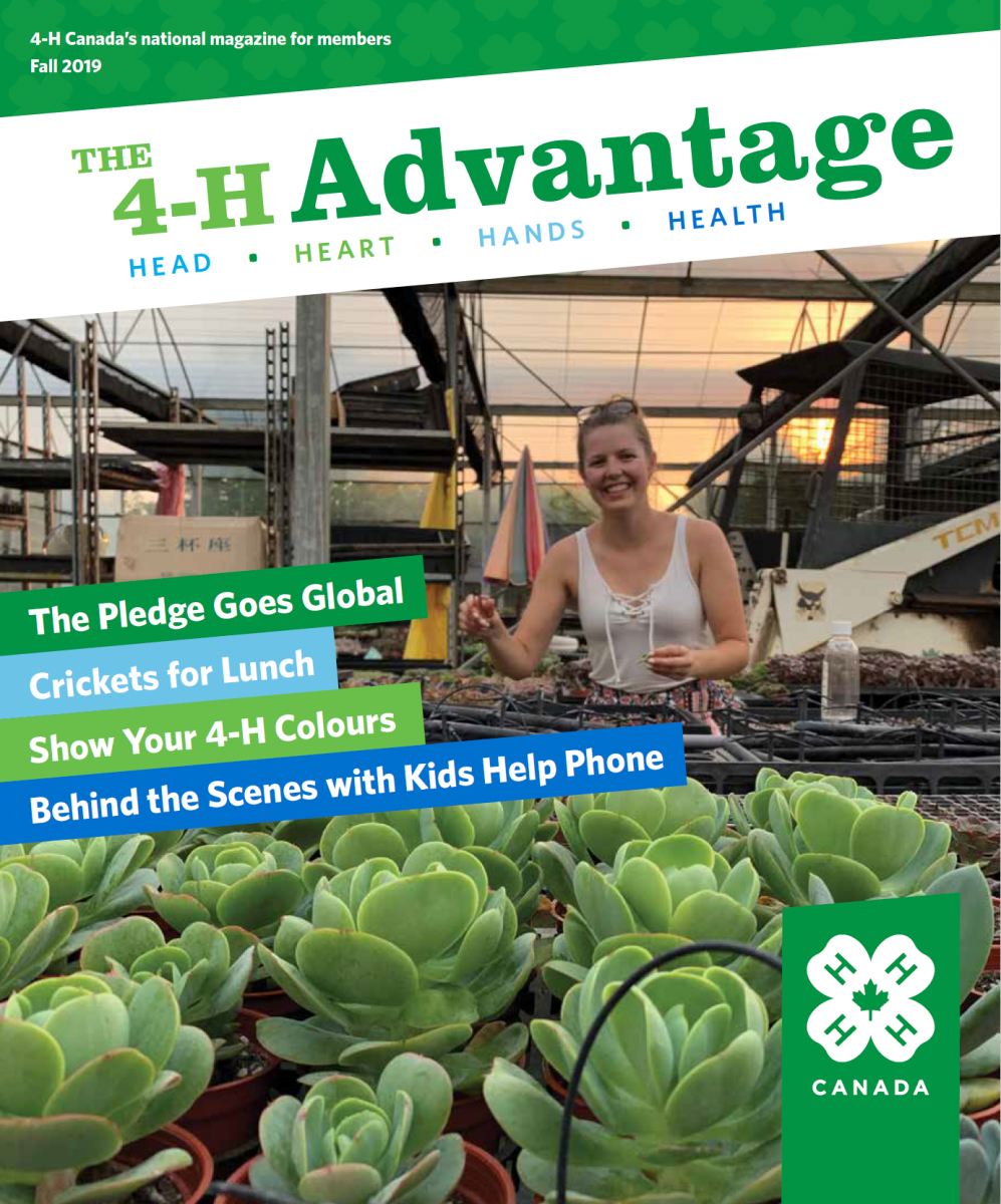 Cover of 4-H Advantage Fall 2019