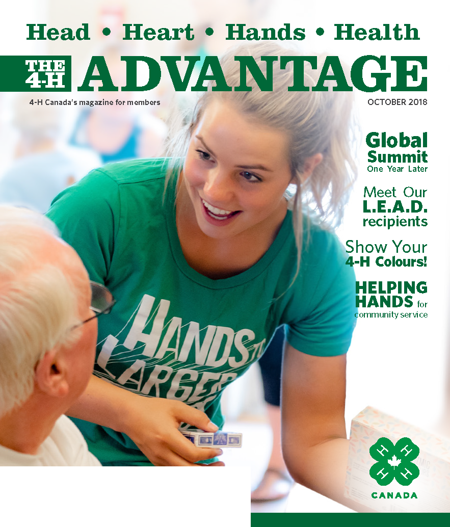 Cover of 4-H Advantage Fall 2018