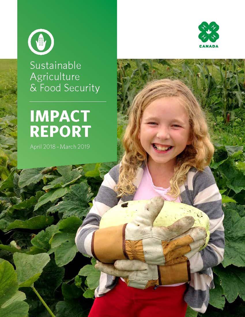 Sustainable Agriculture & Food Security Impact Report 2018-2019