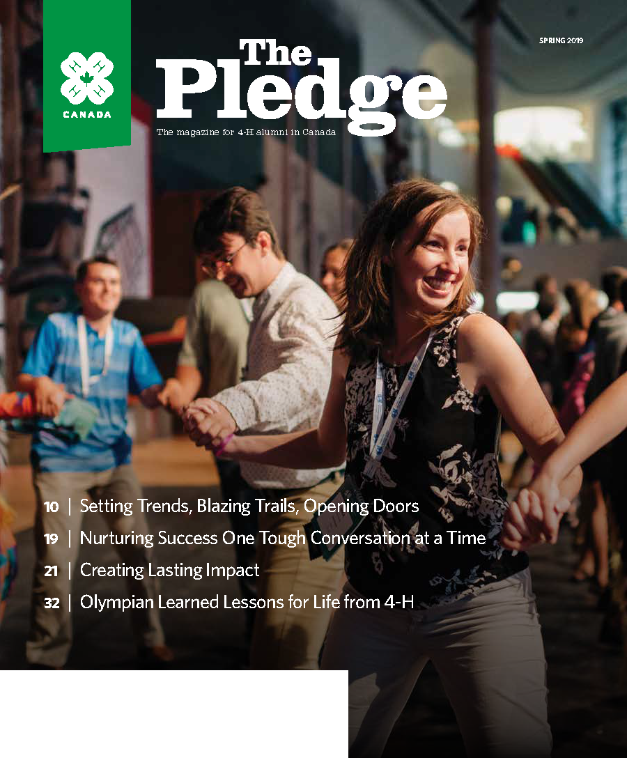 Cover of The Pledge Spring 2019